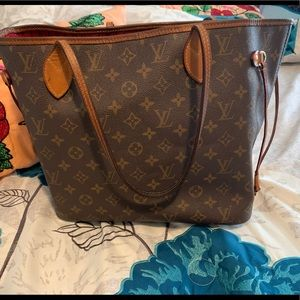 Louis Vuitton neverfull mm with organizer